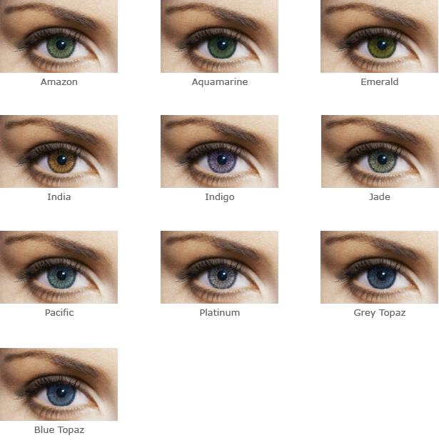 Цветные контактные линзы soflens natural color  66815c8380d2a